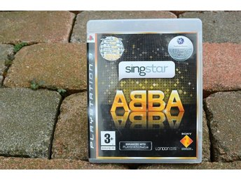 Playstation 3 PS3 spel Singstar ABBA
