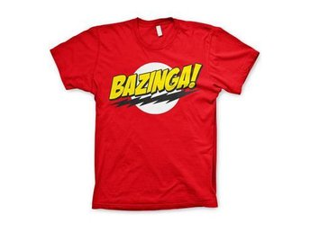Big Bang Theory T-shirt Bazinga Logo L