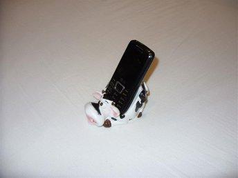 Kossa keramik mobil telefon hållare & stativ söt ko cute cow mobile phone holder - Luleå - Kossa keramik mobil telefon hållare & stativ söt ko cute cow mobile phone holder - Luleå