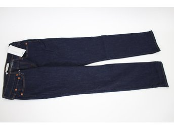 NY! LEVIS 514 Mörkblå Jeans, Relaxed Straight stl: W27 L32