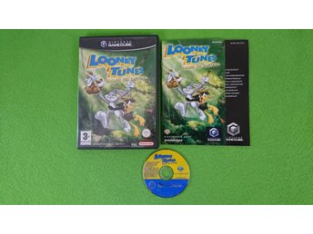 Looney Tunes Back in Action SVENSK UTGÅVA KOMPLETT Nintendo Game Cube