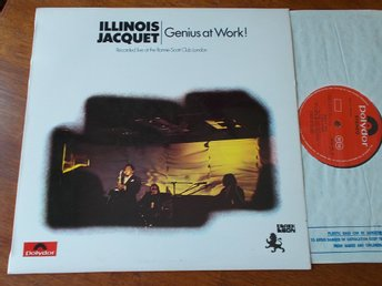 ILLINOIS JACQUET - Genius at work, LP Polydor/ Black Lion 1971 UK
