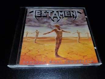 Testament - Practice What You Preach (Thrash Metal, 1989)