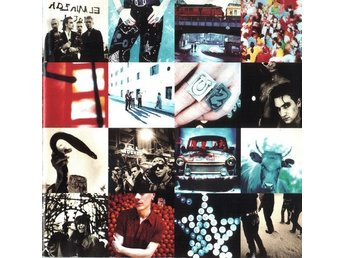 2st CD-U2-Achtung Baby (1991)+How To Dismantle An Atomic Bomb (2004)-Rock