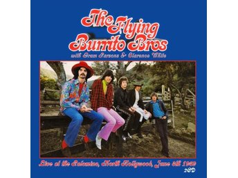 Flying Burrito Bros with Gram Parsons: Live 1969 (2 CD)