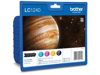 FP Brother LC1240 Value Pack Black, Cyan, Magenta, Yellow (600sid.)