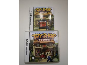 Toy shop tycoon Nintendo DS