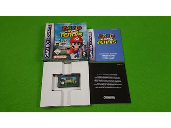 Mario Power Tennis KOMPLETT Gameboy Advance Nintendo GBA