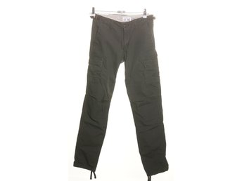 Carhartt, Cargobyxor, Strl: 25x32, Aviation Pant, Khaki