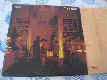 ABBA -THE VISITORS LP 1981 - Sundsvall - ABBA -THE VISITORS LP 1981 - Sundsvall