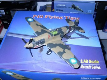 Bronco Models Flying Tiger P-40 in 1/48 scale - a beauty!