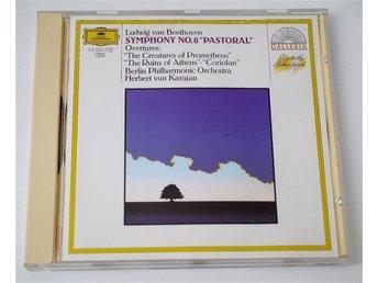 Beethoven Symfoni 6 Pastoral / Berlin Philharm Orch - von Karajan CD - Enskede - Beethoven Symfoni 6 Pastoral / Berlin Philharm Orch - von Karajan CD - Enskede