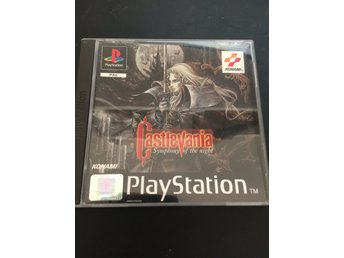 Castlevania - Symphony of the night -PAL - Komplett