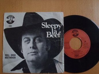 Sleepy Labeef Roll Over Beethoven   rare Spain  45
