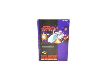 Super R-Type (Manual Snes SCN)