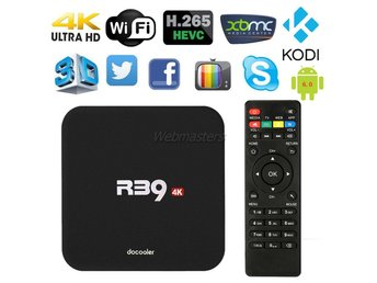 TV Box Android 6.0 Quad Core WiFi XBMC Kodi HD 4K 1GB+8GB EU Plugg