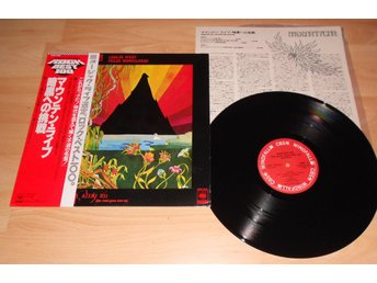 MOUNTAIN - LIVE THE ROAD GOES EVER ON, JAPAN LP W. OBI+INSERT