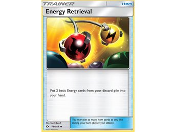 Pokémonkort: Energy Retrieval [Sun & Moon] 116/149