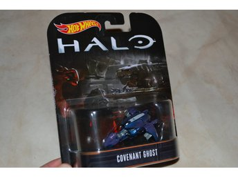 Covenant Ghost HALO ca 1:64 Hot Wheels Presentbox Hög Kvalitet Ny