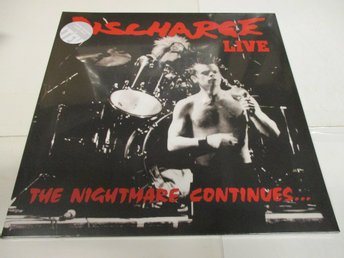 Discharge (LP) - LIVE: The Nightmare Continues... - Ospelad!
