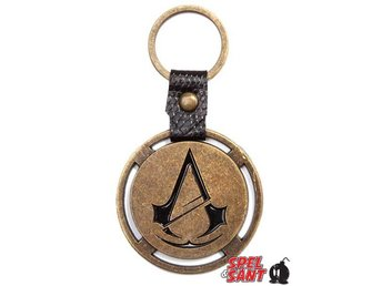 Assassins Creed Unity Logo Nyckelring i Metal