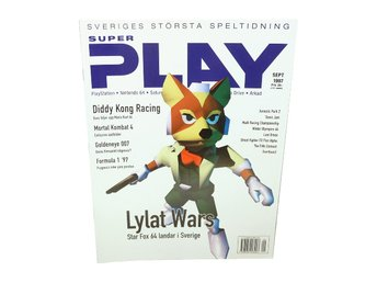 Super Play September 1997 Lylat Wars