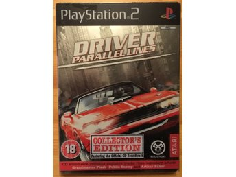 Driver: Parallel Lines Collector's Edition (PS2 PAL BEG!)