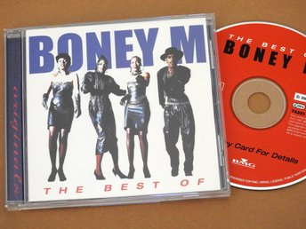Boney M - The Best of CD (Rivers of Babylon,Ma Baker,Rasputin,Sunny)