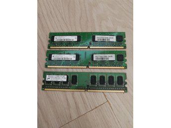 Pc2 ramminne 3 GB (3x1GB)