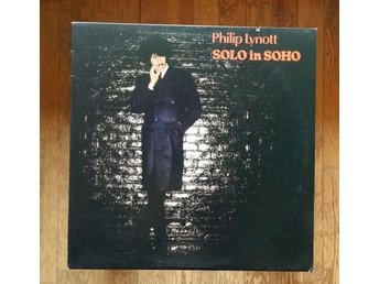 Philip Lynnot, Solo in Soho, 1980, Record = VG+/Excellent, Original innerskydd