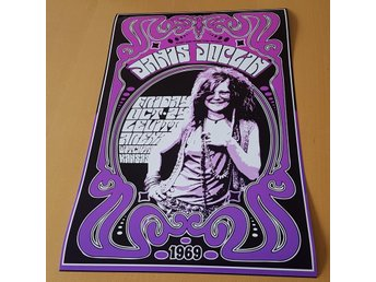 JANIS JOPLIN LEVITT ARENA WITCHITA 1969 PHOTO POSTER