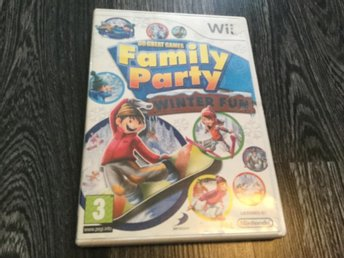 30 Great Games Family Party Winter Fun(Komplett)(Utgått)