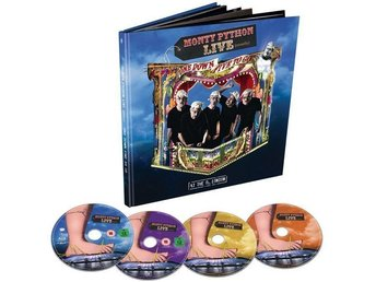 Monty Python / Live (Mostly) One down Five to go (Blu-ray + DVD + 2 CD) 4-Disc!