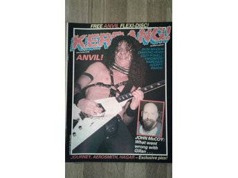 Kerrang #43. Iron Maiden. Accept. Anvil. Aerosmith m.m