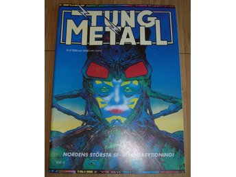 TUNG METALL NR 8 1988 Fint skick