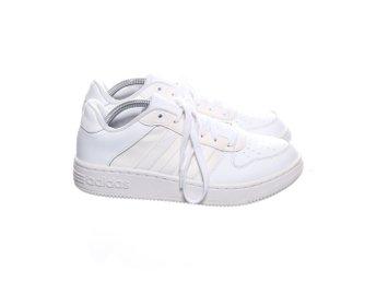 Adidas NEO, Sneakers, Strl: 38.6, Team Court, Vit, Skinn