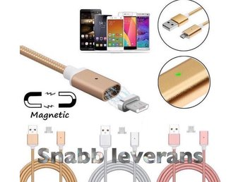 Iphone laddare magnetisk , Lightning Guld (snabb leverans)