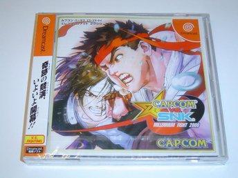 Capcom vs SNK Millenium Fight 2000 Sega Dreamcast Japanskt NTSC *NYTT*