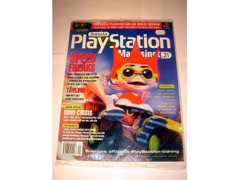 PLAYSTATION Mag Nr21  HELT NY m CD  9/1999  SPEED FREAKS  mm