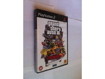 PS2: Grand Theft Auto III (GTA 3)