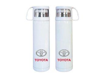 Toyota rostfritt stål termos, Toyota kaffetermos med mugg, Toyota present - Karlskrona - Toyota rostfritt stål termos, Toyota kaffetermos med mugg, Toyota present - Karlskrona