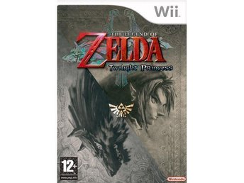 Svenskt The Legend Of Zelda Twilight Princess Nintendo Wii