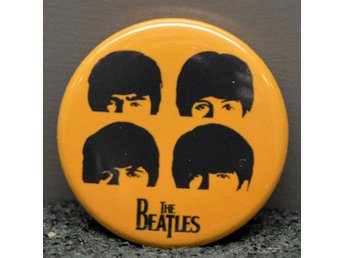 The Beatles - badge/pin/knapp - 25mm