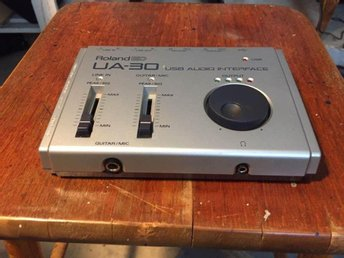 MusikStudio RolandED UA-30 usb audio interface