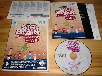 Wii: Big Brain Academy