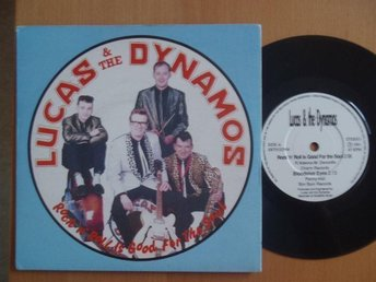 Lucas & Dynamos Rock & Roll Is The Good For The... UK 45  rock & roll rockabilly