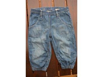 Baggy jeansshorts / knickers - H&M , storlek: 110 - Eskilstuna - Baggy jeansshorts / knickers - H&M , storlek: 110 - Eskilstuna