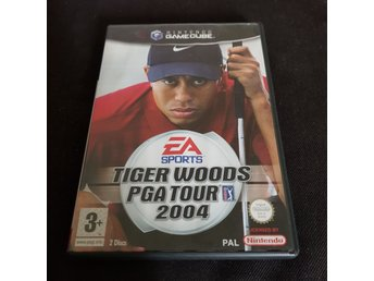 Tiger Woods PGA Tour 2004, Gamecube, GC.