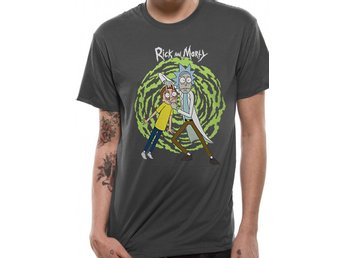 RICK AND MORTY - SPIRAL (UNISEX) - Medium
