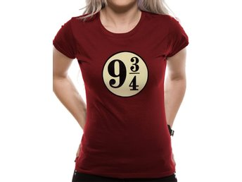 HARRY POTTER - PLATFORM 9 3/4S  (FITTED)  T-Shirt, Kvinnor - Medium